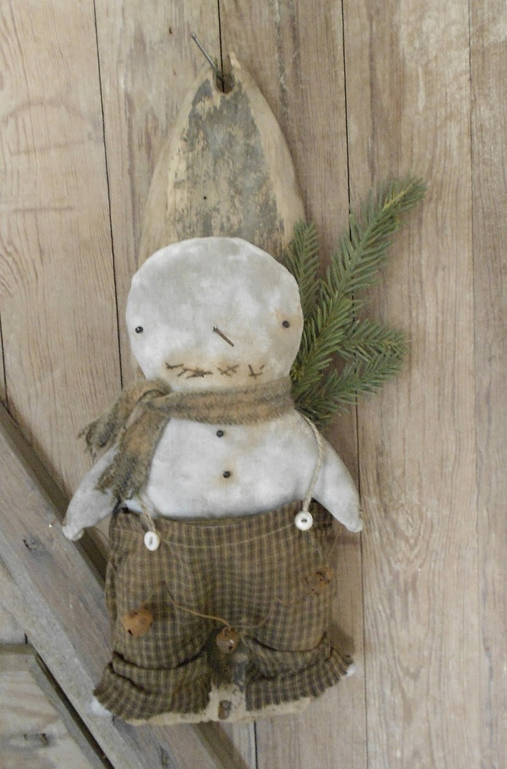 58 best primitive snowman images on pinterest primitive snowmen