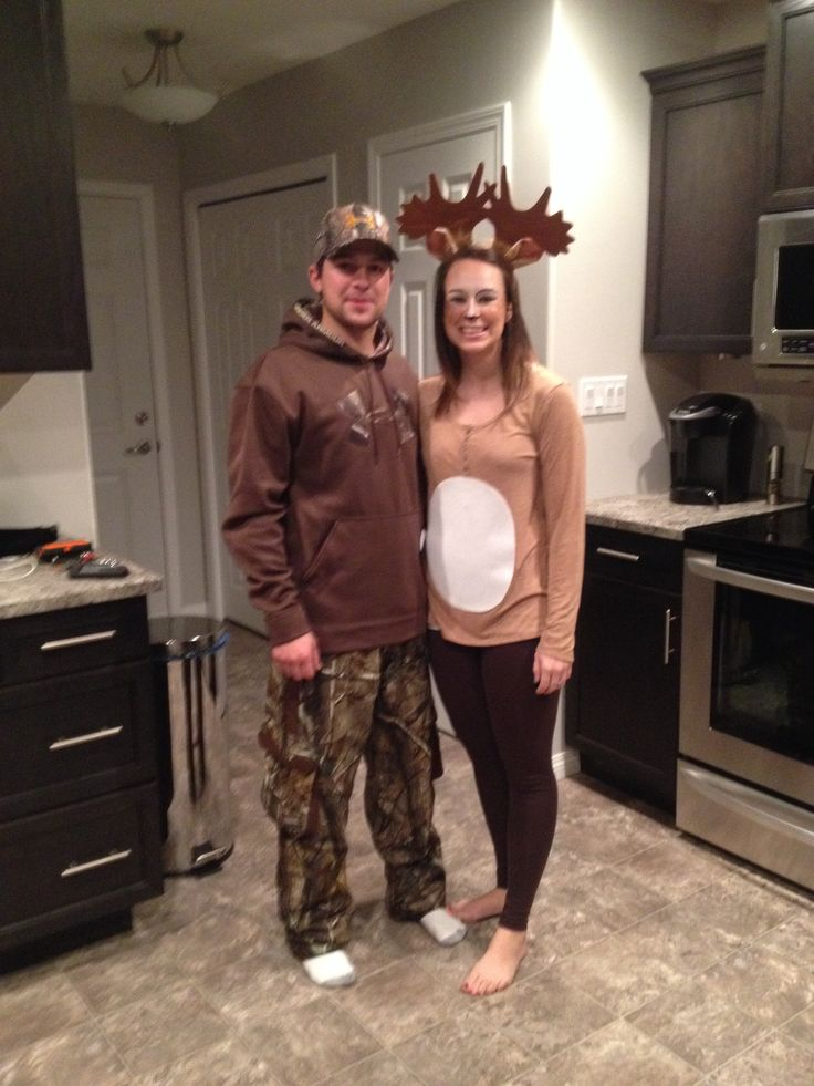 Deer And Hunter Halloween Costume