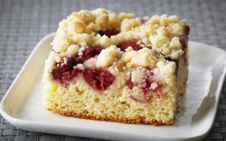 Raspberry Ricotta Buckle by Anna Olson (Berries) @FoodNetwork_UK