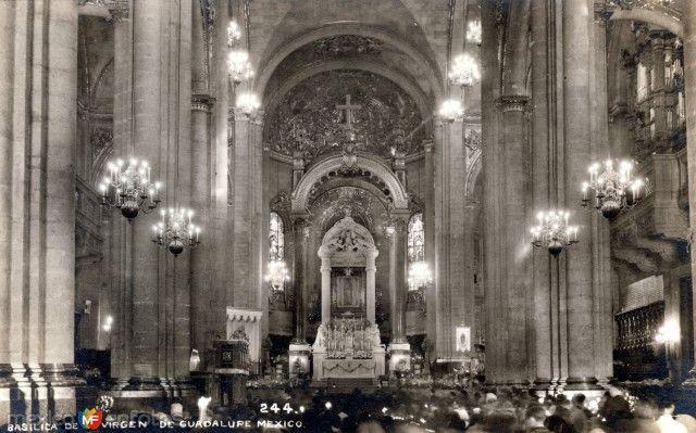 Interior de la Basílica de Guadalupe