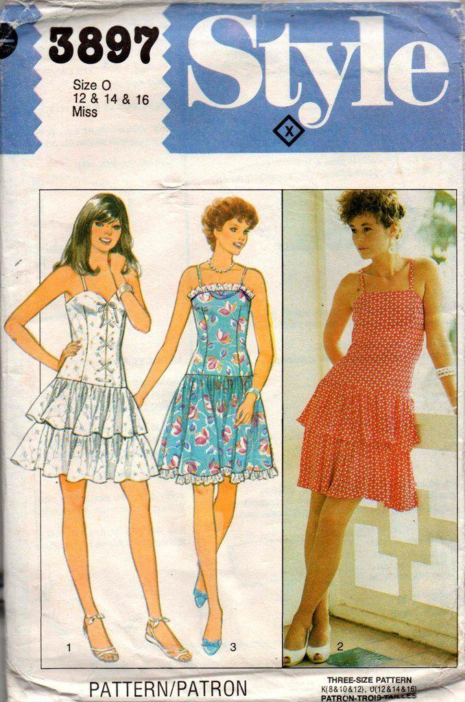 126 best Vintage Schnittmuster images on Pinterest | Kleidermuster ...