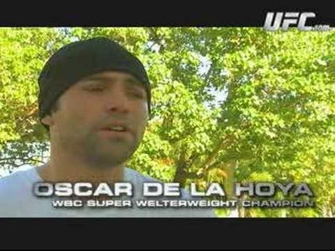 Oscar De La Hoya And Diego Sanchez Training Partners?