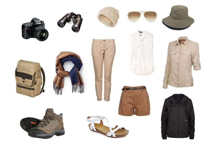What to pack on safari