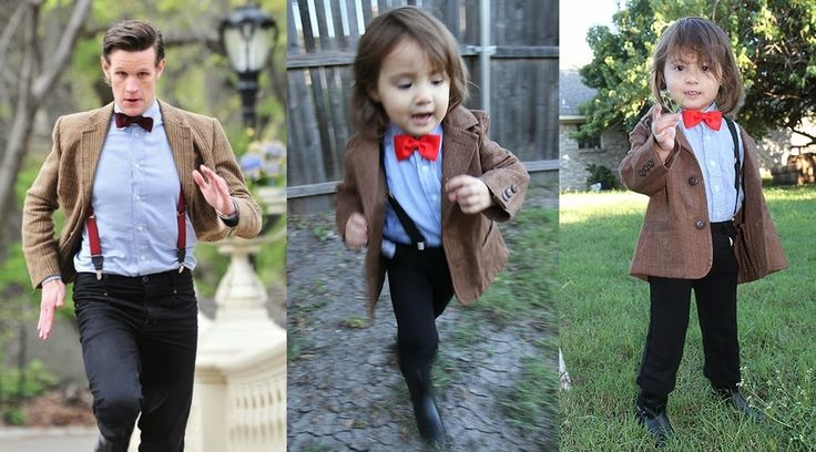 """Little Girl Dresses Up As All 11 Doctors From """"Doctor Who"""", Is Both Cute And Geeky"""