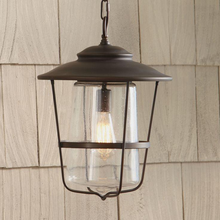 Birch Lane Remington 1 Light Outdoor Hanging Lantern & Reviews | Wayfair