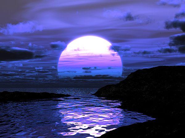"Bildwerk ""Magic Sunset"""