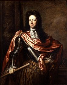 """King William III of England, (1650-1702) was sovereign Prince of Orange from birth, Stadtholder of Holland, Zeeland, Utrecht, Gelderland, and Overijssel in the Dutch Republic from 1672, and King of England, Ireland, and Scotland from 1689 until his death. It is a coincidence that his regnal number (III) was the same for both Orange and England. As King of Scotland, he is known as William II. He is informally known by sections of the population in Northern Ireland and Scotland as """"King…"""