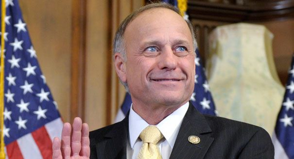 GOP Rep. Steve King Tells African-Americans In Ferguson To Straighten Up and Fly Right...Steve King is an idiot!