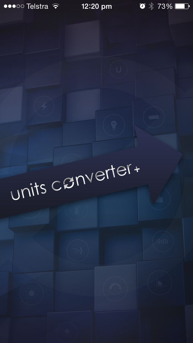 https://itunes.apple.com/au/app/units-converter+-pro/id895738433?mt=8  Using this free unit-converting tool, convert across 20+ categories and more than 400 plus units.  •More than 20 categories and over 400+ units  •Free  •Simple, easy to use UI  •Fast calculation  •Latest currency rates  •Automatic update of currency exchange rate  •Mixed-Unit Support    Categories:  Acceleration, Angle, Area, Bytes,   Currency, Current, Energy, Force,   Illumination, Inductance, Length…