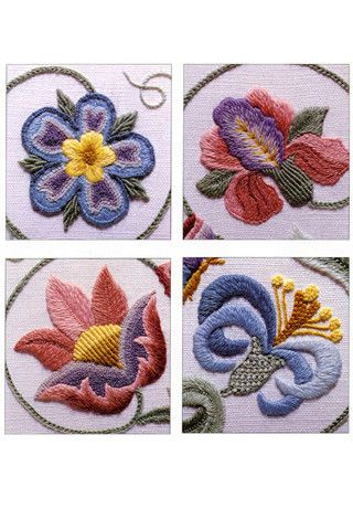 Churchmouse Yarns & Teas - Beginner's Guide to Crewel Embroidery
