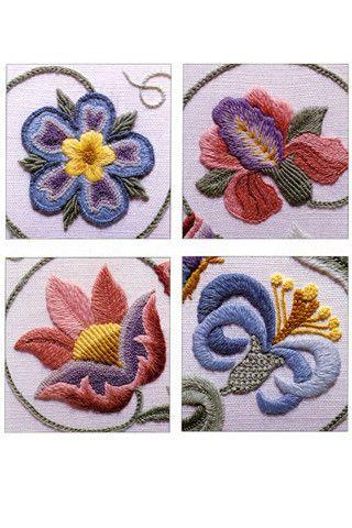 crewel embroidery - Google'da Ara