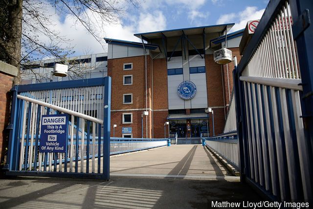 A general view of Sheffield Wednesday's Hillsborough stadium on April 26, 2016 in Sheffield, England. The fresh inquests into the 1989 Hillsborough disaster, in which 96 football...