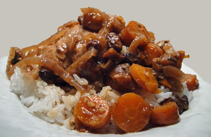 Morrocan chicken stew