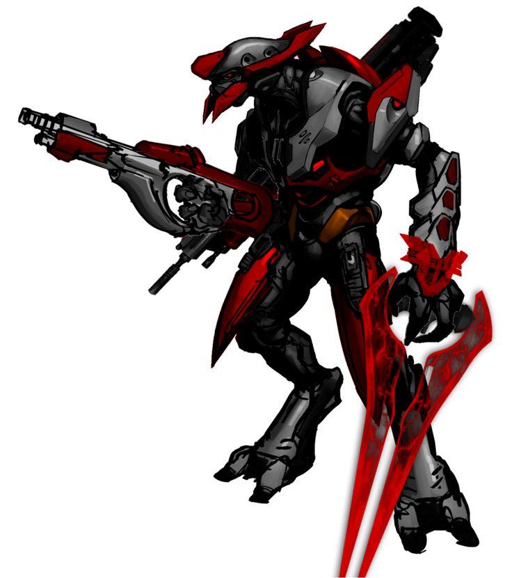 Halo 2 Anniversary Sangheili Secondary Wish Armor. by CommanderNova702 on DeviantArt
