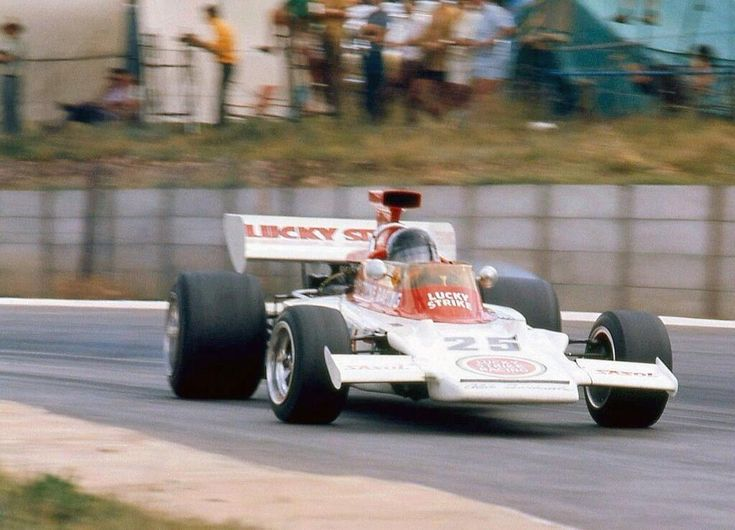 Dave Charlton Lotus 72 South African  GP 1970. Finished 12th.