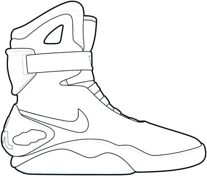 Steph Curry Shoes Coloring Pages To Print For Adults Free