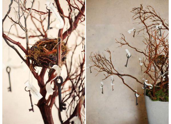 Keys {Wedding Decoration Inspiration
