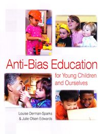 Anti-bias education: for young children and ourselves - That is what this book offers: A chance to make the world fairer and more humane for everyone from a place where you have already chosen to be–working with children and families. In this wonderful and long-awaited second edition, the authors compellingly invite early childhood educators to learn and reflect and to teach in new and daring ways.