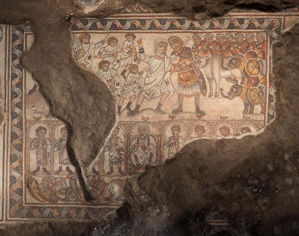 Alexander the Great Mosaic – MAGAZINE OMNITRAVEL