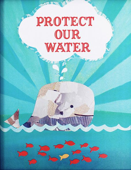 'Protect Our Water' Print