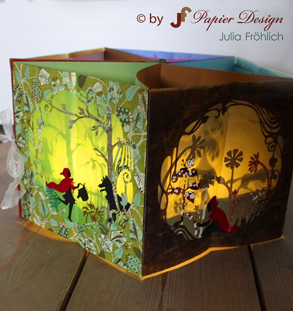 Pop-up carousel book with a light inside on Behance                                                                                                                                                      More