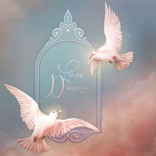 """Jaguarwoman's """"Love Doves Collection"""""""