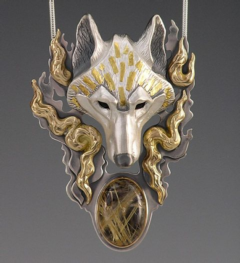133 best Wolf Jewellery images on Pinterest Wolf Wolf den and