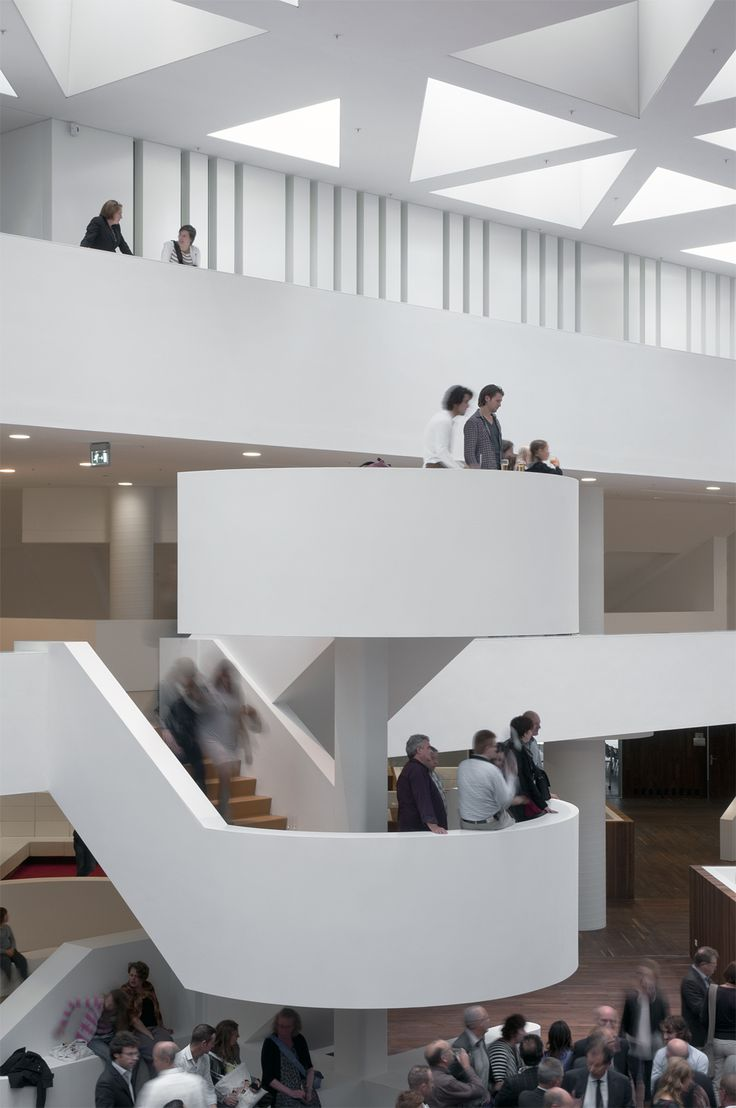 Interiors Education Center Erasmus MC Rotterdam By KAAN Architecten Pic Svd Fotografie