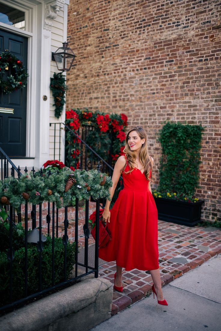 Gal Meets Glam Ladylike in Red + Join Me In Atlanta! - Jill Stuart Dress c/o Neiman Marcus Last Call