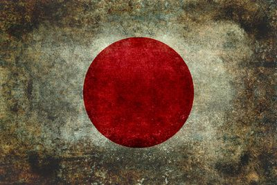 The national flag of Japan Stretched Canvas