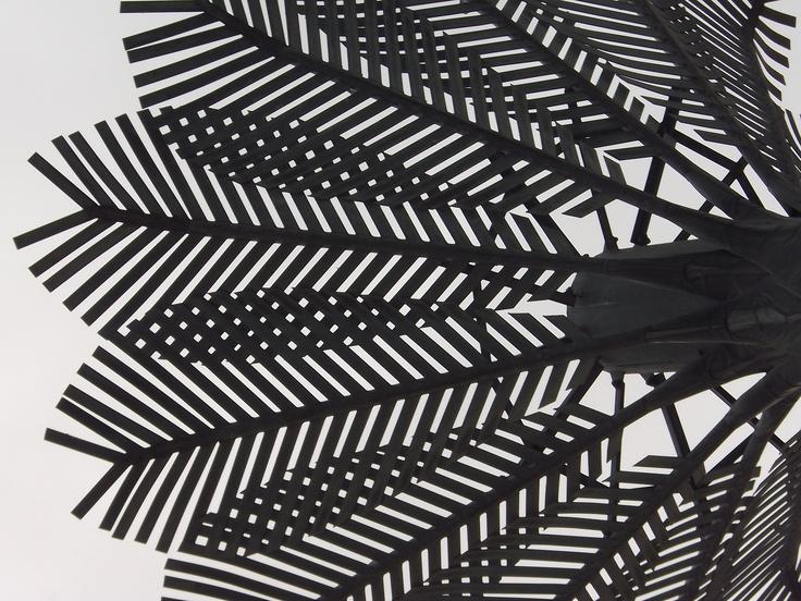 Wellington, NZ. A city full off public art like these nikau palms