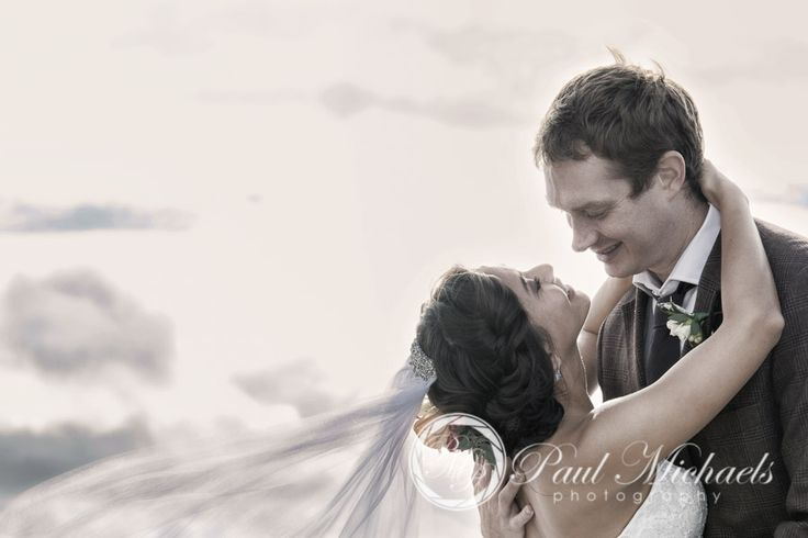 Romance on the beach at Petone. New Zealand #wedding #photography. PaulMichaels of Wellington http://www.paulmichaels.co.nz/