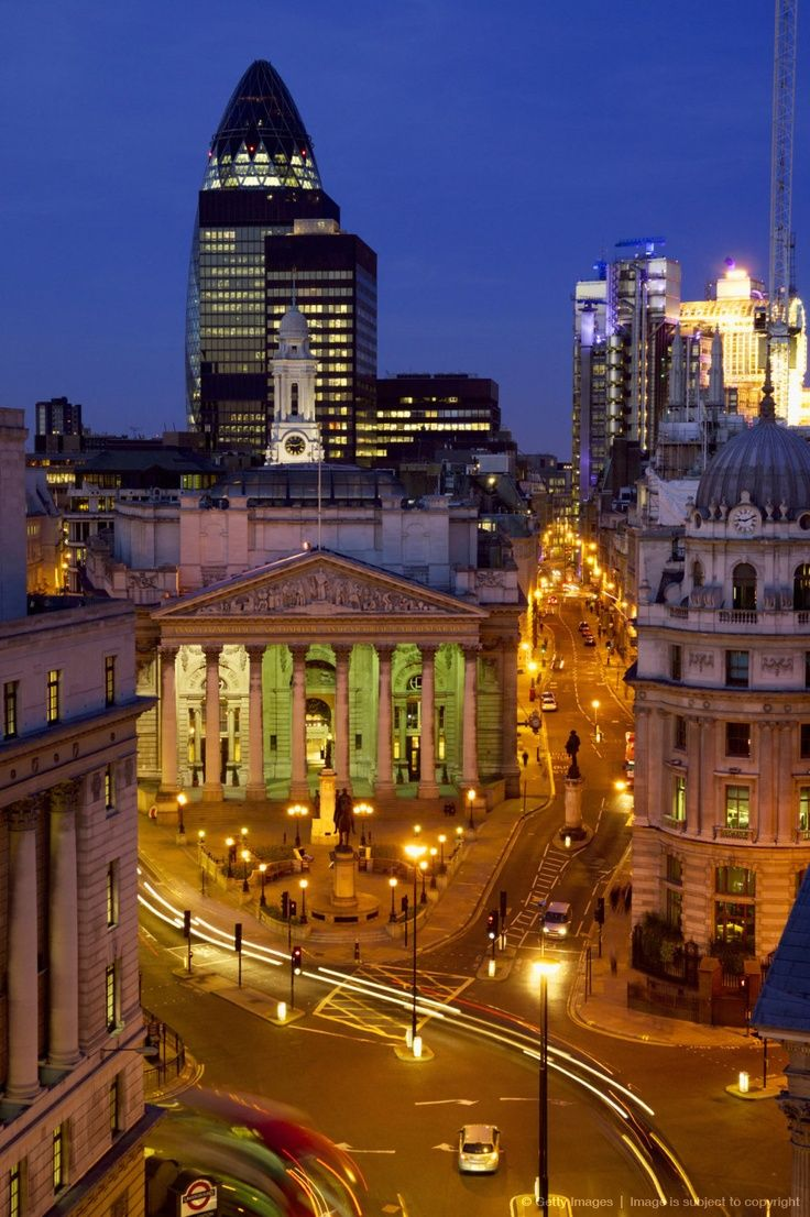 An amazing pic of the City of London