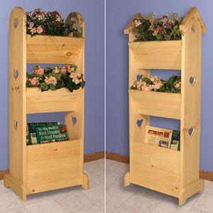 11-2039 - Flower Tower Woodworking Plan