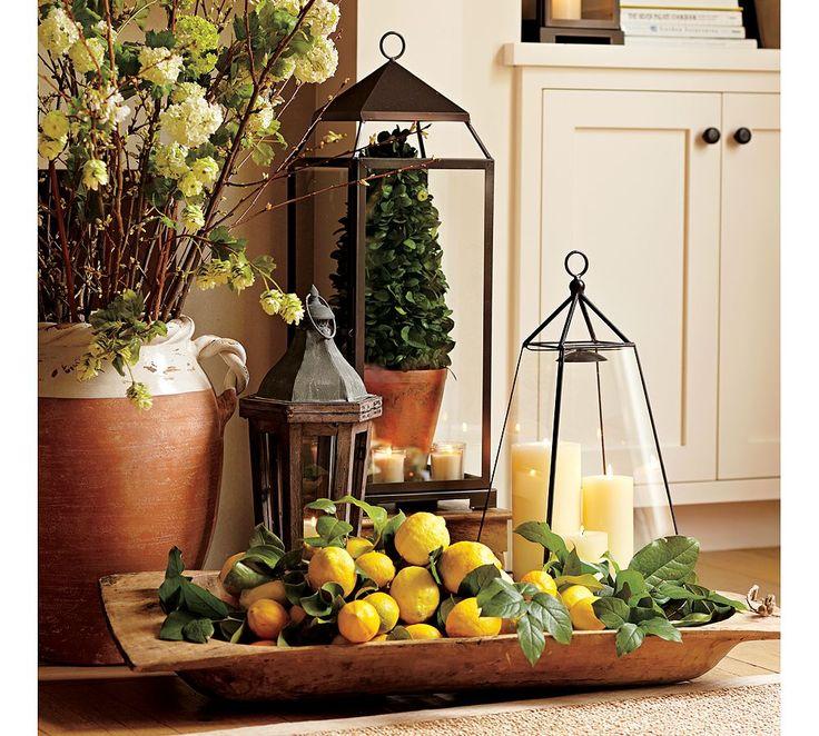 Steel Lantern Garden of lemons