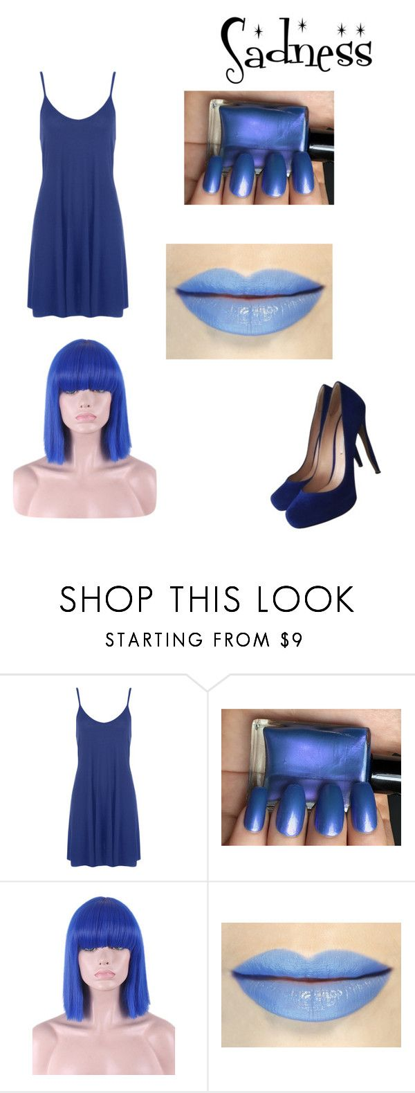 """Sadness"" by explorer-14945475686 ❤ liked on Polyvore featuring WearAll, WithChic and Nicholas Kirkwood"