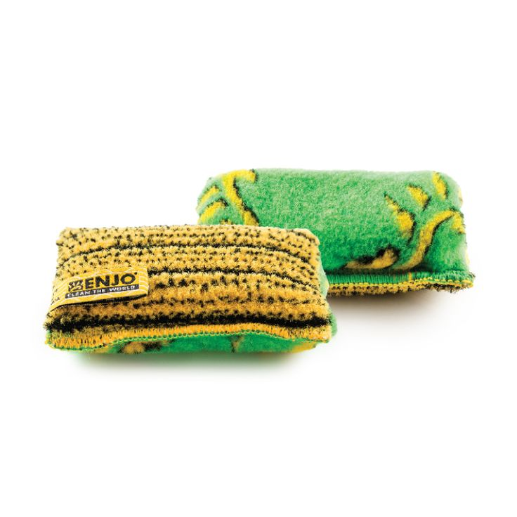 Bathroom Sponge - This little guy has mastered all the jobs regular sponges, cloths and scourers do badly. It gently removes tough grease and food residues from pots, pans, ovens, grills, stove tops and dishes, without the need for chemicals, landfill and a tonne of elbow grease. Find it at: http://www.enjo.com.au
