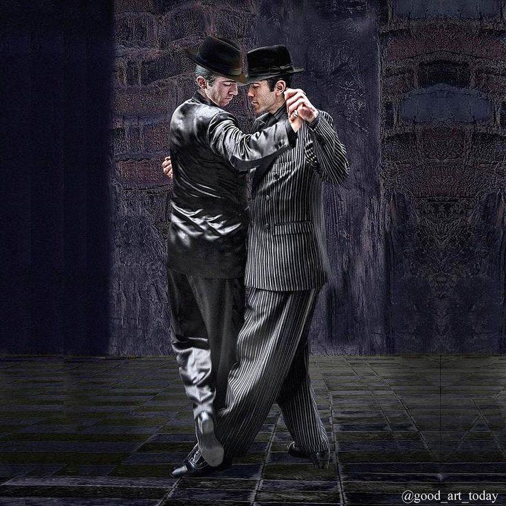Если вы увидите такую картину не спешите с выводами... На заре зарождения аргентинское танго танцевали мужчины на улицах со своими друзьями перед встречами с женщинами чтобы потом переняв опыт соблазнить этим танцем.  Танго - это мир куда вы без преувеличения впрыгнете с первых аккордов оно закружит заворожит и ослепит аргентинской страстью. Вы забудете о времени и с удивлением заметите блеск в своих глазах желание свободу восторг и легкость одновременно а в конце это состояние минутного…