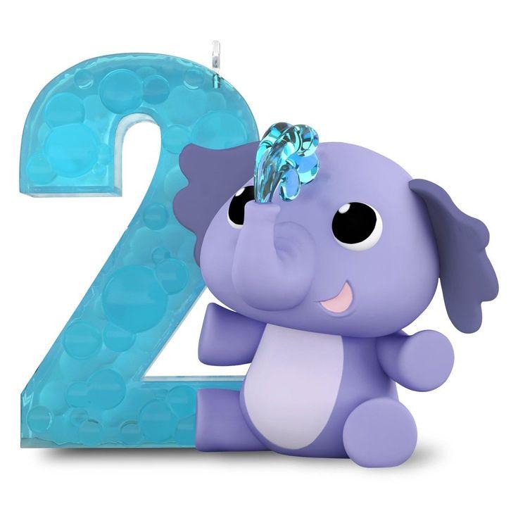 Hallmark Keepsake Ornament: I Am Two! Baby's Second Year