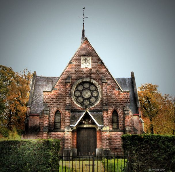 small chapel Schoten, Belgium