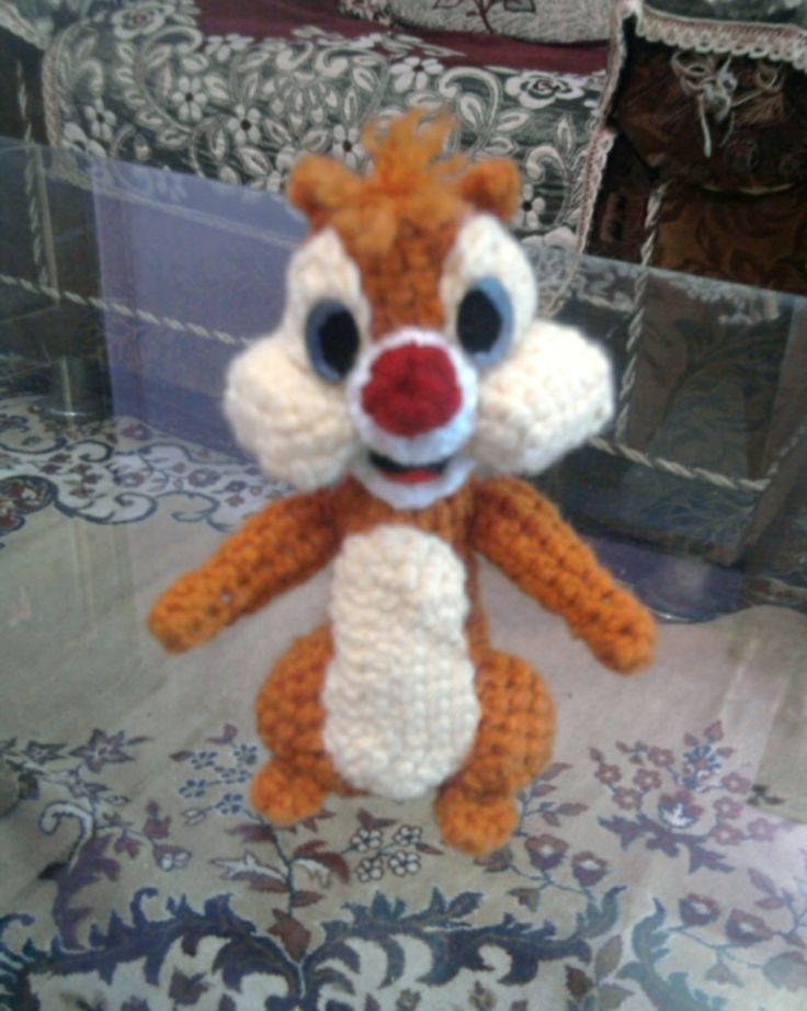 103 best AMIGURUMI - Chipmunks / Squirrels images on Pinterest ...