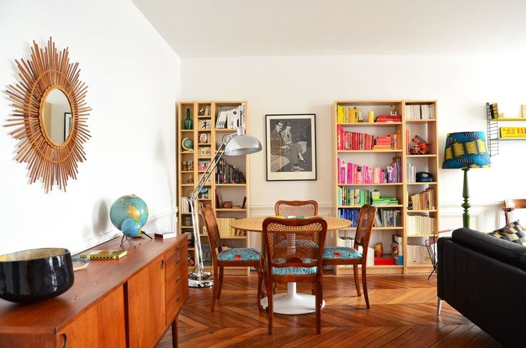 Laurence & Fabrice's Friendly Eclectic Mix in Paris