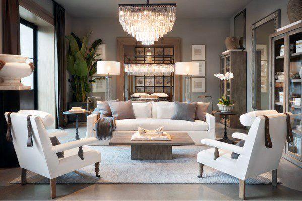 Top 50 Best Living Room Lighting Ideas Interior Light Fixtures Restoration Hardware Living Room Living Room Lighting Home Living Room