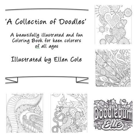 Fun & Unique Colouring Book: 'A Collection of Doodles'