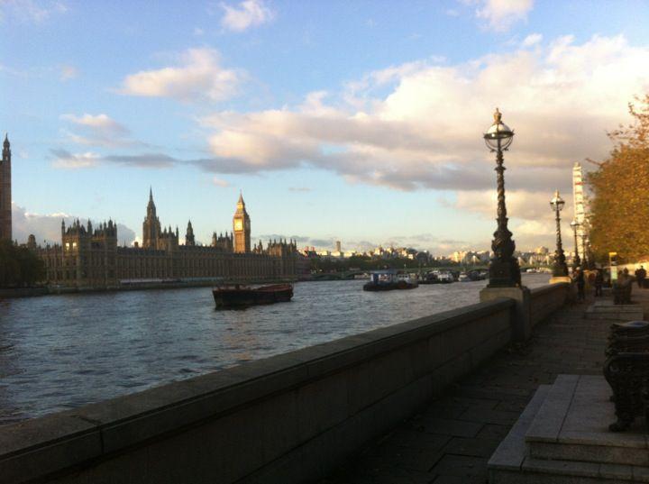El Rio Támesis Londres, Greater London