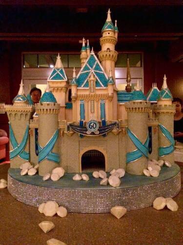 Disneyland Cake 60 th Anniversary Cake
