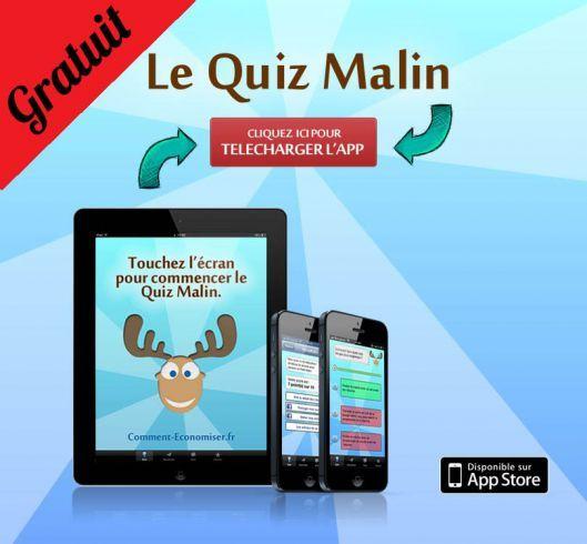 Telechargez l'application du Quiz Malin !