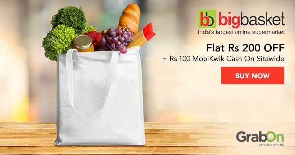 Grab Your Exclusive #Grocery Coupon From #bigbasket!  #groceryshopping #coupons #offers #food #foodie #Cooking
