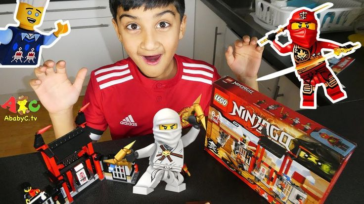 Ninjago Master of Spinjitzu | Lego 70591 unboxing and building | AbabyC ...