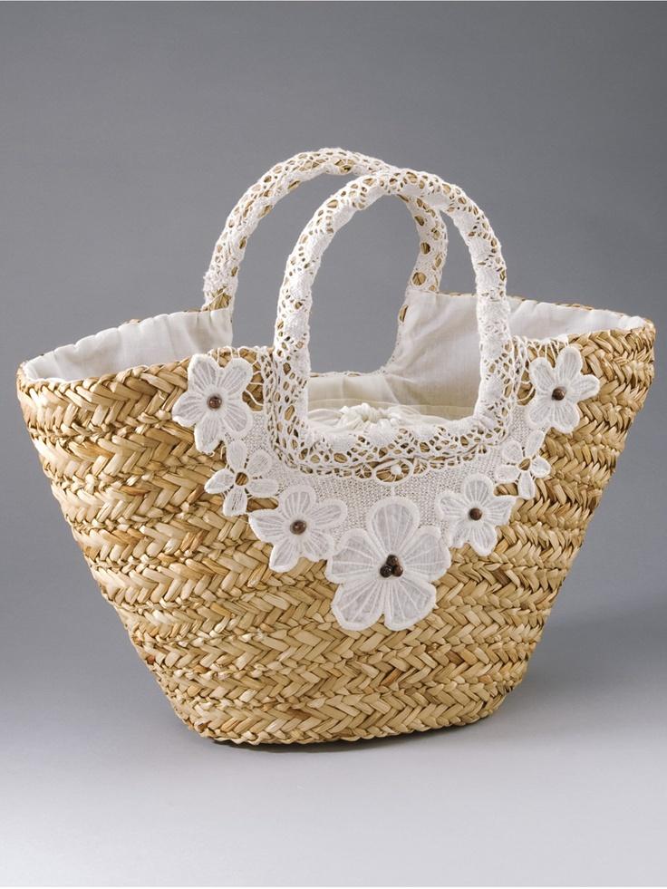 Straw Basket Bag